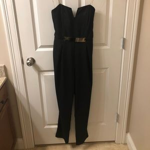 Love Culture black jumpsuit